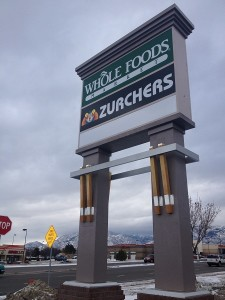 Business signs in Draper Utah